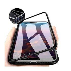 Husa cu Bumper Magnetic si Spate din Sticla Securizata pentru Galaxy A70