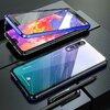 Husa cu Bumper Magnetic si Spate din Sticla Securizata pentru Huawei P20 Pro