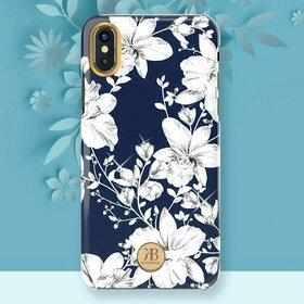 Husa cu Cristale Swarovski - Kingxbar Blossom Series pentru iPhone X/XS