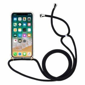 Husa cu snur - Rope Case pentru Huawei P20 Pro Transparent