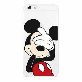 Husa din silicon Disney Original cu Mickey pentru iPhone 11 Pro Transparent