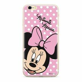 Husa din silicon Disney Original cu Minnie pentru Samsung Galaxy A20e Transparent