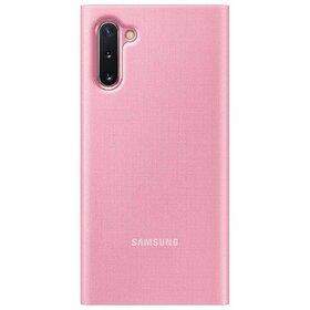 Husa Flip cu Display LED Samsung LED View pentru Samsung Galaxy Note 10 Pink