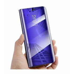 Husa Flip Mirror pentru Galaxy A10/M10 Purple