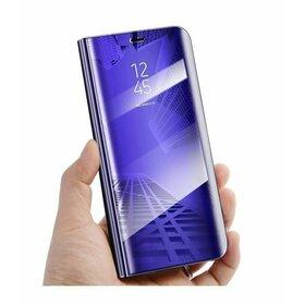 Husa Flip Mirror pentru Huawei Mate 10 Purple