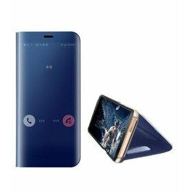 Husa Flip Mirror pentru Huawei Mate 30 Blue