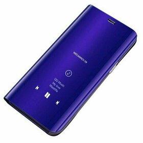 Husa Flip Mirror pentru Huawei P Smart (2020) Purple