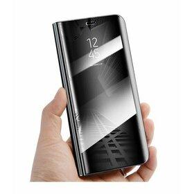 Husa Flip Mirror pentru Huawei P30 Black
