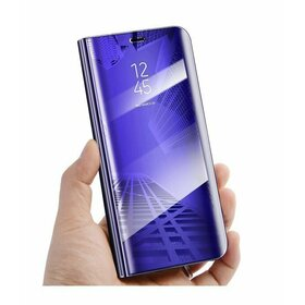 Husa Flip Mirror pentru Huawei P30 Purple