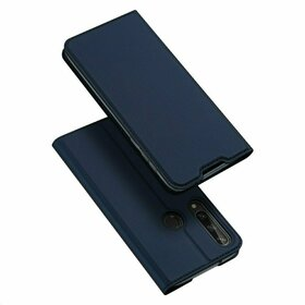 Husa flip tip Carte DUX DUCIS Skin Pro pentru Huawei Y6P (2020) Blue