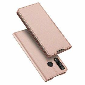 Husa flip tip Carte DUX DUCIS Skin Pro pentru Huawei Y6P (2020) Pink
