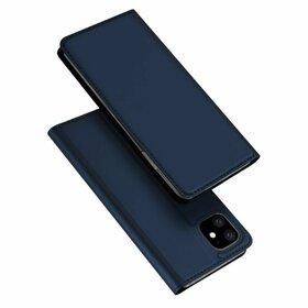 Husa flip tip Carte DUX DUCIS Skin Pro pentru iPhone 11 Navy