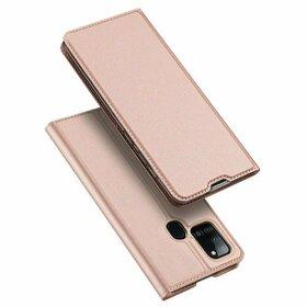 Husa flip tip Carte DUX DUCIS Skin Pro pentru Samsung Galaxy A21s