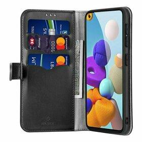 Husa flip tip Portofel DUX DUCIS Kado pentru Samsung Galaxy A21s Black