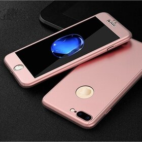 Husa iPhone SE 2 (2020) / iPhone 7 / iPhone 8 model 360 Rose Gold