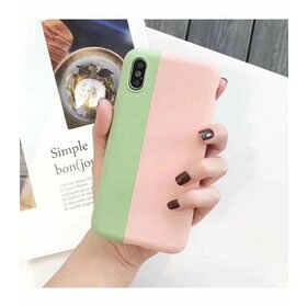 Husa iPhone SE 2 (2020) / iPhone 7 / iPhone 8 model magnetic din silicon LightPink