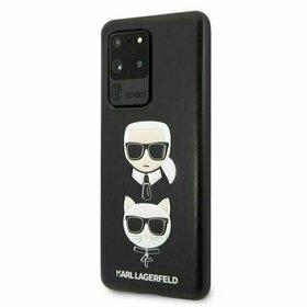 Husa Karl Lagerfeld si Choupette din piele neagra pentru Samsung Galaxy S20 Ultra Black
