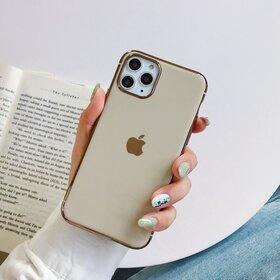 Husa Luxury pentru iPhone 11 Gold