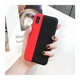Husa magnetica din silicon pentru iPhone XS Max Red