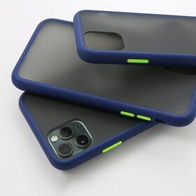 Husa mata cu bumper din silicon pentru Galaxy A50/ Galaxy A30s Blue