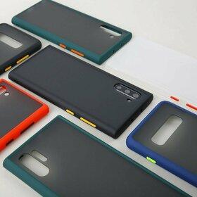 Husa mata cu bumper din silicon pentru Huawei Mate 20 Pro