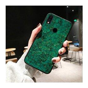 Husa protectie cu model marble pentru Huawei Mate 20 Green
