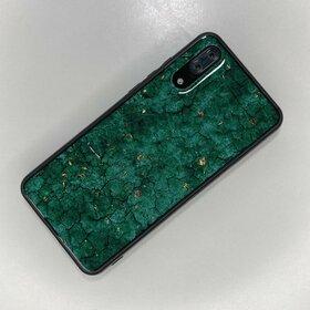 Husa protectie cu model marble pentru Huawei P20