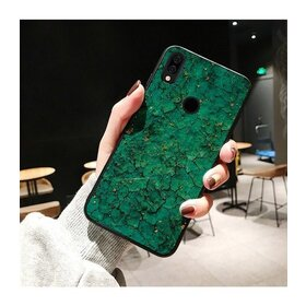 Husa protectie cu model marble pentru Huawei P30 Green