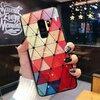 Husa protectie cu model multicolor pentru Galaxy A6 Plus (2018)