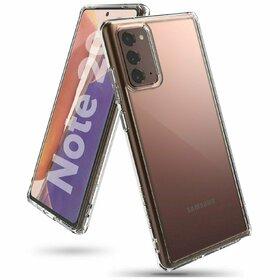 Husa Ringke Fusion PC + Bumper TPU pentru Samsung Galaxy Note 20 Transparent