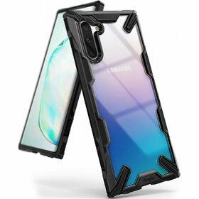 Husa Ringke Fusion X PC + Bumper TPU pentru Samsung Galaxy Note 10 Black