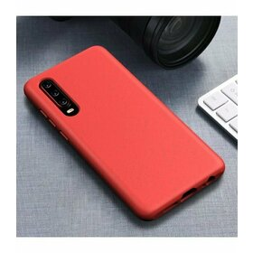 Husa Silicon Eco pentru Huawei P30 Red