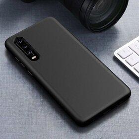 Husa Silicon Eco pentru Huawei P30 Lite Black