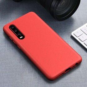 Husa Silicon Eco pentru Huawei P30 Lite Red