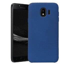 Husa Silicon Premium pentru Galaxy J4 Plus (2018) Baby Blue
