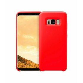 Husa Silicon Premium pentru Galaxy J7 (2017) Red