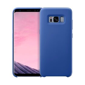 Husa Silicon Premium pentru Galaxy S8 Plus Blue