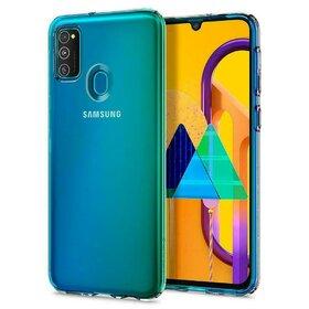 Husa Spigen Liquid Crystal pentru Samsung Galaxy M21 / M30s Transparent