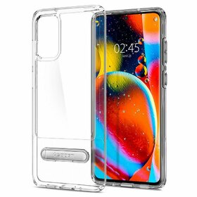 Husa Spigen Slim Armor Essential S pentru Samsung Galaxy S20 Plus Transparent