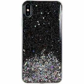 Husa Wozinsky Star Glitter pentru Samsung Galaxy A31 Transparent
