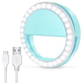 Lampa tip inel cu led de iluminare de mici dimensiuni Light Blue