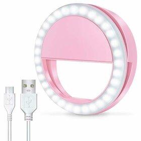 Lampa tip inel cu led de iluminare de mici dimensiuni Pink