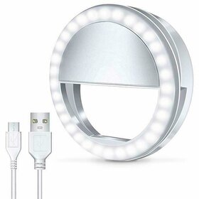 Lampa tip inel cu led de iluminare de mici dimensiuni White