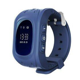 Smart Watch cu monitorizare GPS, buton SOS si functie apelare pentru copii Blue