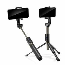 Trepied Spigen S540w Wireless cu Selfie Stick Black