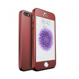 Husa 360 pentru iPhone 5/5s/SE Red