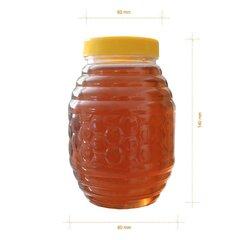 Borcan miere plastic alimentar butoias 1kg
