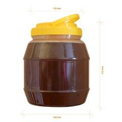 Borcan miere plastic alimentar rotund 3kg
