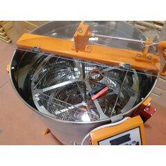 Centrifuga apicola combinata 4 rame 1/1 tangential sau 12 rame 3/4 radial  electrica 220V/12V si manuala Stuparul.Ro