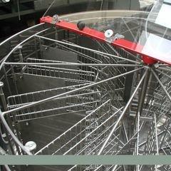Centrifuga apicola reversibila inox 16 rame multietajat electrica 220V full automat Lyson
